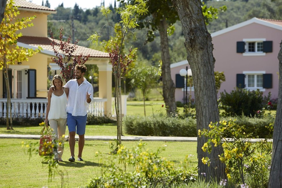 With an analogy of small village you escape for every day life at Capo Di Corfu.